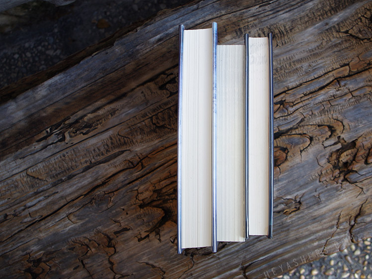 Books on bench main