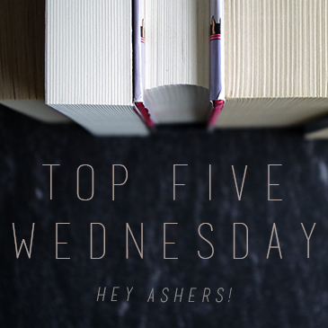 Top 5 Wednesday books to reread