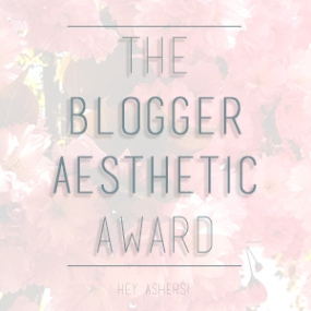 The Blogger Aesthetic Award