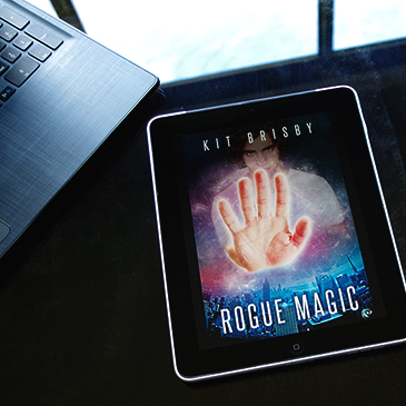 Rogue Magic by Kit Brisby 3 star review