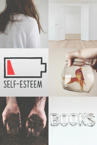 Aesthetic mood board for Katy Swartz from Obsidian